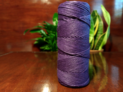 Hemp twine - purple