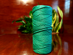 Hemp twine - forest green
