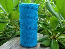 Hemp twine - electric blue